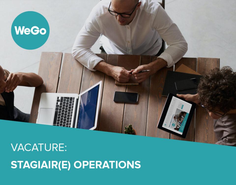 Vacature WeGo Stagiair(e) Operations