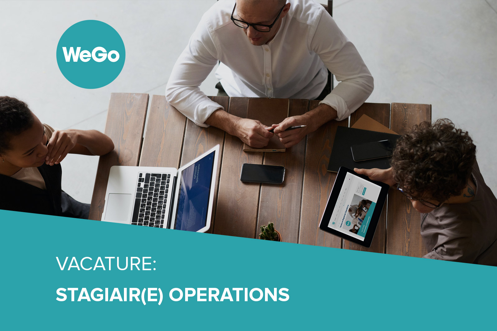 Vacature WeGo Stagiair(e) Operations