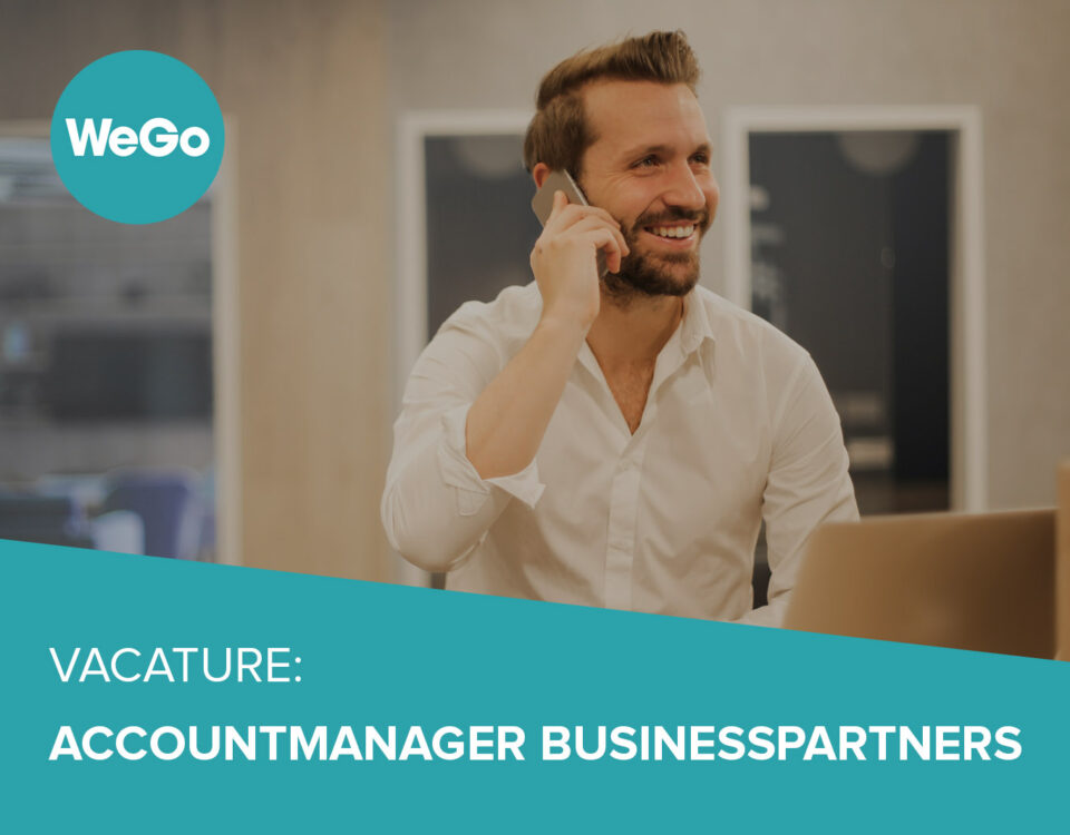 Vacature WeGo Accountmanager Businesspartner