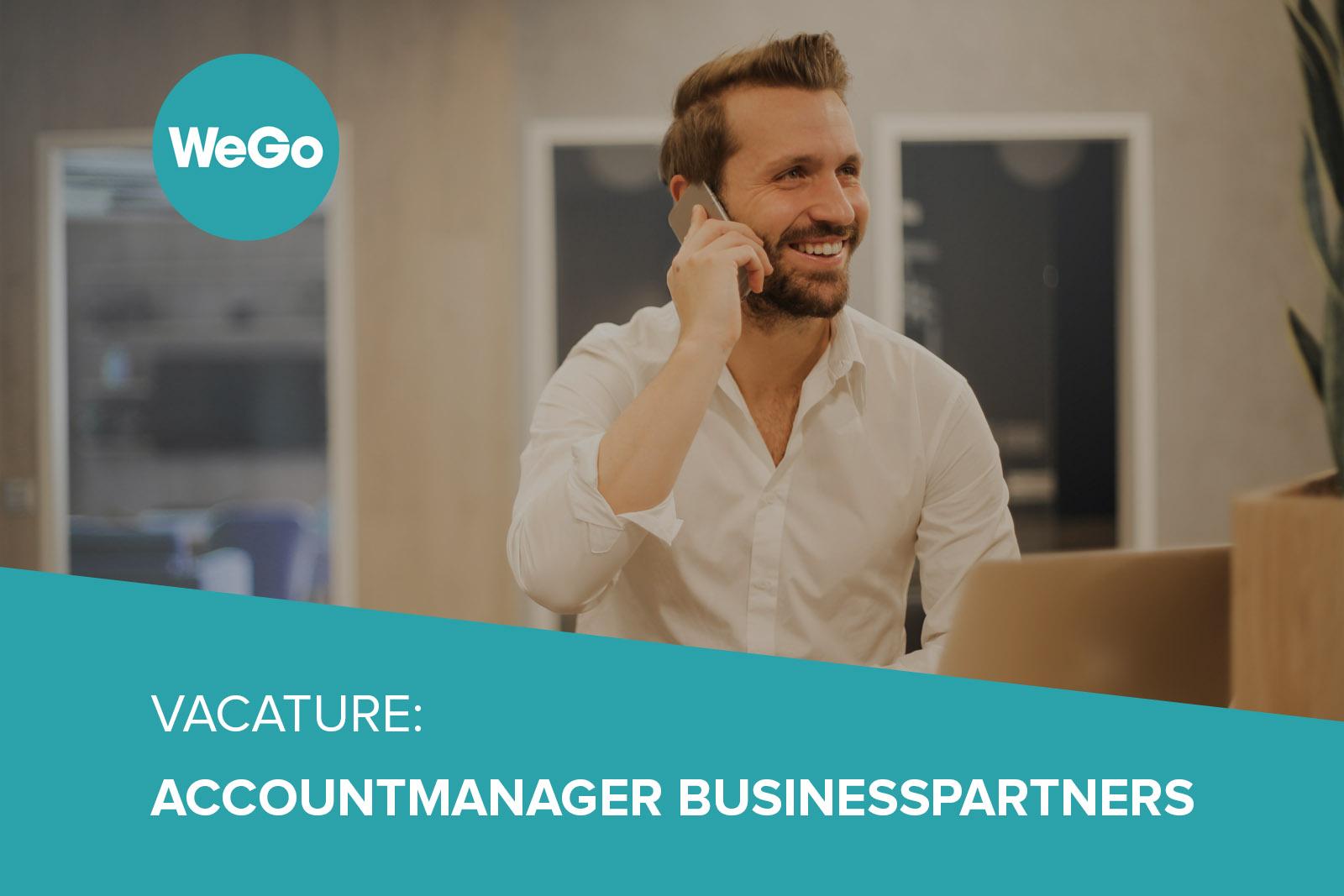 Vacature WeGo Accountmanager Businesspartners