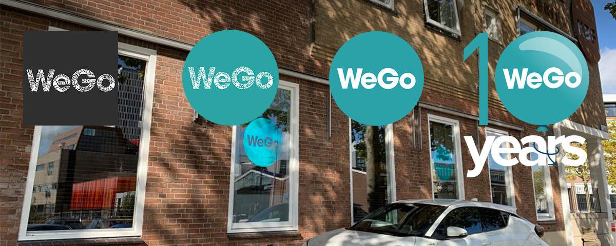 WeGo bestaat vandaag 10 jaar