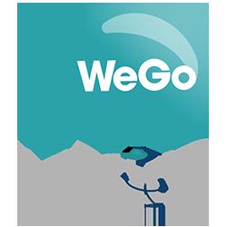 WeGo 10 years logo