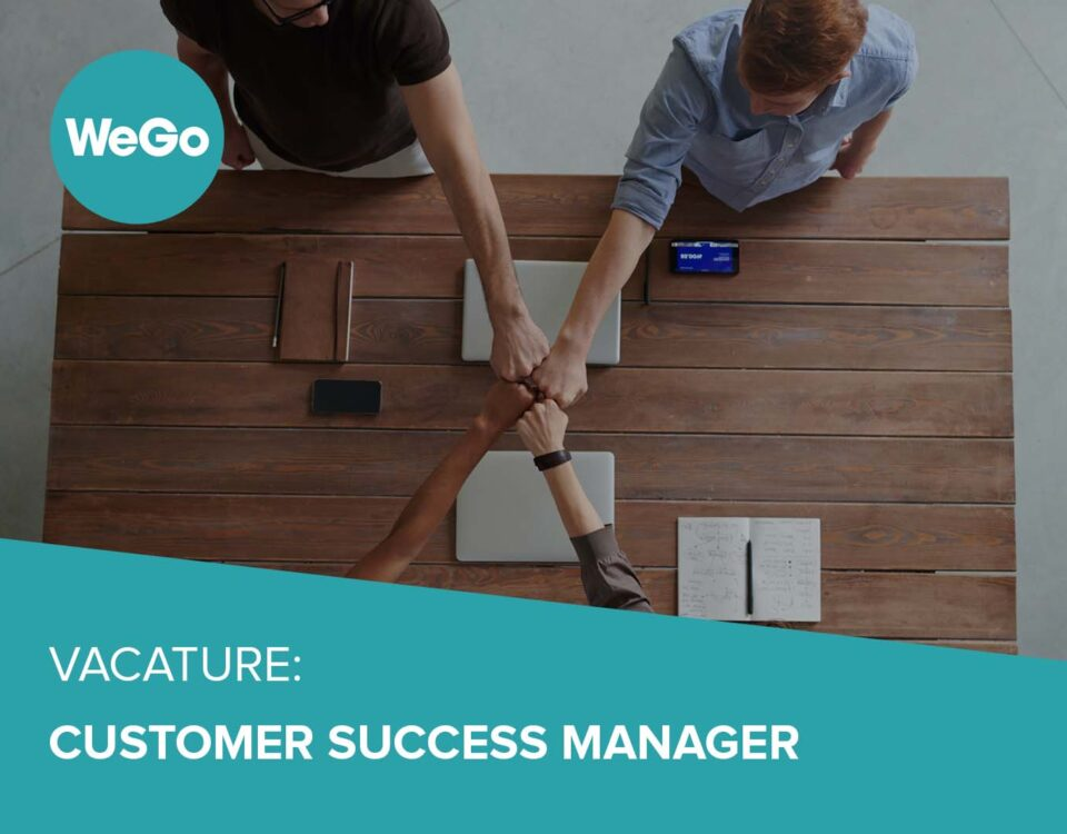 Vacature WeGo Manager Success Manager