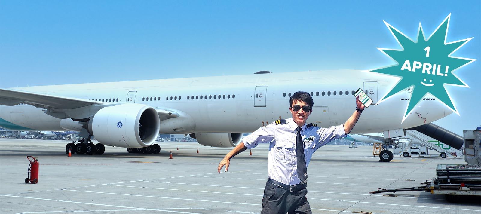 WeGo start met vliegtuigdelen