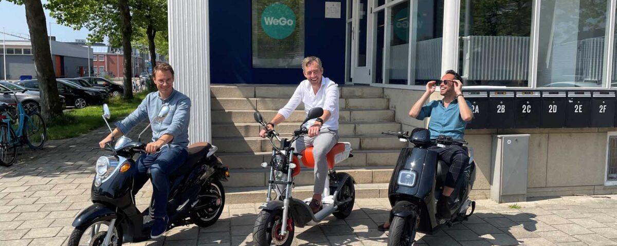 Steeds meer scootermerken gekoppeld aan het WeGo platform