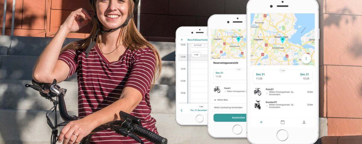 WeGo breidt dienstverlening uit met fietsdeeloplossing